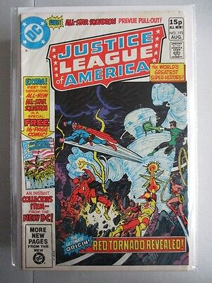 Justice League of America Vol. 1 (1960-1987) #193 FN/VF UK Price Variant
