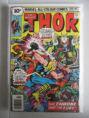 Mighty Thor Vol. 1 (1966-2011) #249 VF+ UK Price Variant