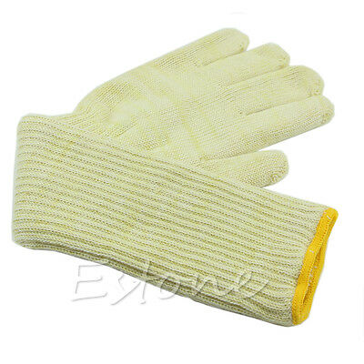 Long Cuff Oven Glove Heat Resistant Protective Hand Tool Kitchen For Grill BBQ