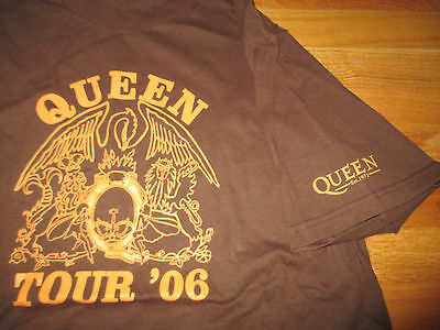2006 QUEEN Concert Tour (LARGE) T-Shirt PAUL RODGERS