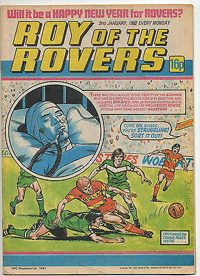 6 Roy Of The Rovers Comics,