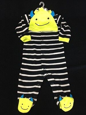Carter's Just One You Sleep & Play and Hat Set 'My First Halloween' 6mo. NWT