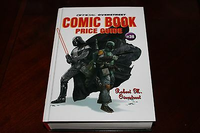 OVERSTREET #38 HC Hardcover Comic Book Price Guide Star Wars cover