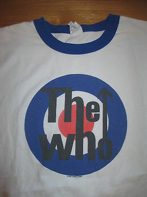 2007 The WHO Repro Logo (LARGE) T-Shirt BLUE and WHITE