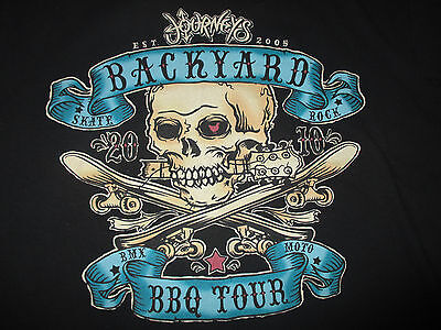 2010 JOURNEY BACKYARD BBQ Concert Tour (MEDIUM) T Shirt