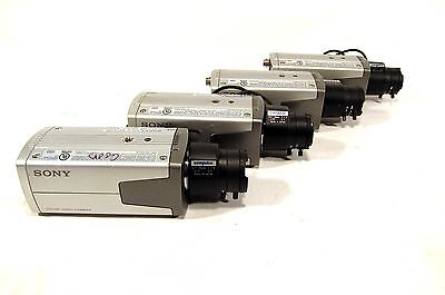 Lot of 4 Sony SSC-DC193 CCD Color Video Security Camera System Cameras Computar