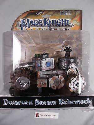 Wiz Kids Mage Knight Dwarven Steam Behemoth Limited Edition game figure Sealed
