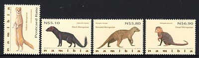 Namibia 2012 Mongoose Set 4 MNH