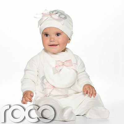 Baby Girls Romper Set, Christening Set, Christening Gifts For Girls