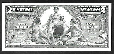 Proof Print by the BEP - 1896 $2 Silver Certificate