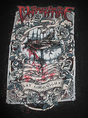 """BULLET FOR MY VALENTINE """"Say Goodnight"""" (LG) T-Shirt"""