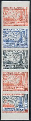 Gabun Gabonaise 1973 ** Mi.510 Color Proof ESSAY Weltraum Space Espace Satellite