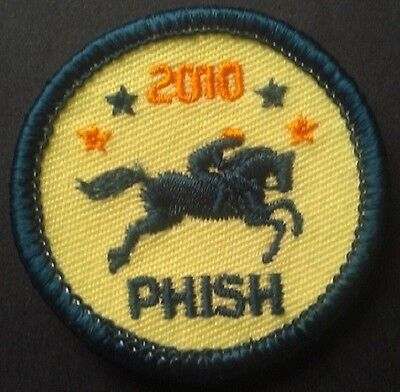 SPAC 2010 PHISH Summer Tour Merit Badge  - Hard to Find!  Act Fast!
