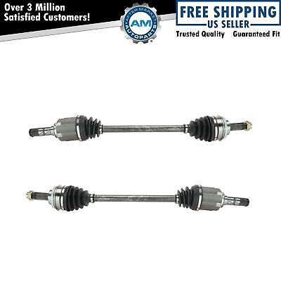 Front CV Axle Shaft Pair Left & Right Set Of 2 For Subaru Baja Forester Impreza