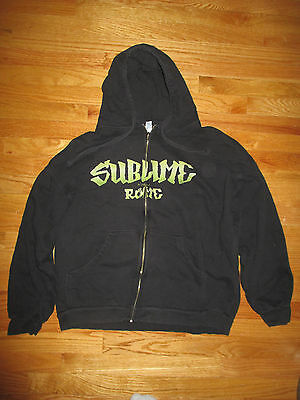 SUBLIME with ROME  Zippered (2XL) Hooded Sweatshirt