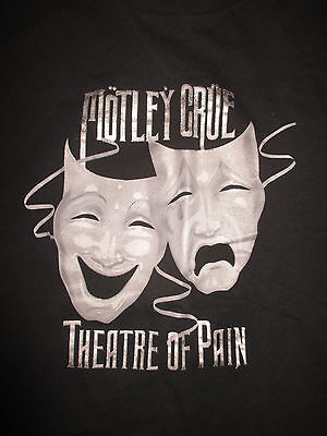 "MOTLEY CRUE ""THEATRE OF PAIN"" (XL) T-Shirt"