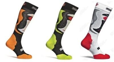 Sidi Faenza Motorcycle Motorbike Top Quality Long Race Boot Socks - All Colours