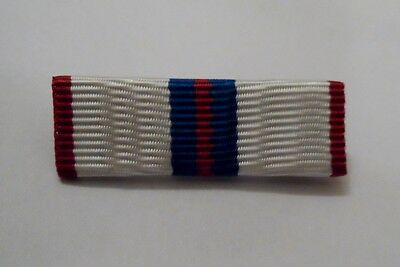 Queens Silver Jubilee Medal Ribbon Bar, Sew on or Pin Attachment option, Jacket