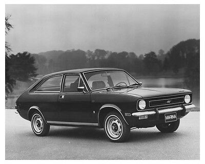 1972 Austin Marina Two Door GT Automobile Factory Photo ch8587