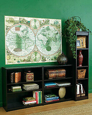 New Huge Vintage Style Antique Old World Map Wall Mural Poster Sticker Paper