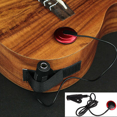 New Piezo Contact Microphone Pickup For Guitar Violin Banjo Mandolin Ukulele