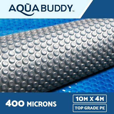 Solar Swimming Pool Cover 400 Micron Outdoor Bubble Blanket 10m X 4m