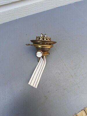 Hinks Liverpool oil lamp twin burner key rising bayonet  working Hinks 6