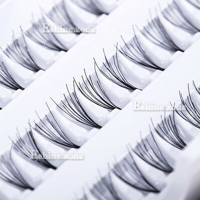Makeup Individual False Eyelashes Curl Cluster Eye Lashes Extension 8/10/12/14mm