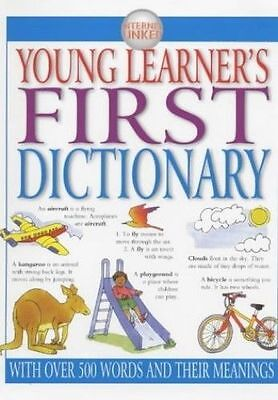 Young Learner's First Dictionary Hardback Illustrated Dictionary over 500 words