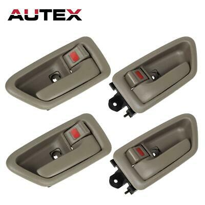 4PCS Front Rear Left Right Interior Door Handles Bezels for 97-2001 TOYOTA CAMRY