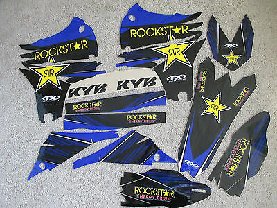 F X Team 22 Racing Graphics Yamaha Yz450F Yzf450 2010 2011