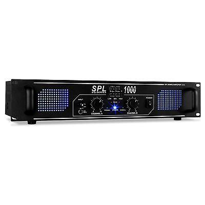 Amplificador Skytec Spl1000 Dj Sd Usb Mp3 2800W Home Cinema Estereo Hifi Aux