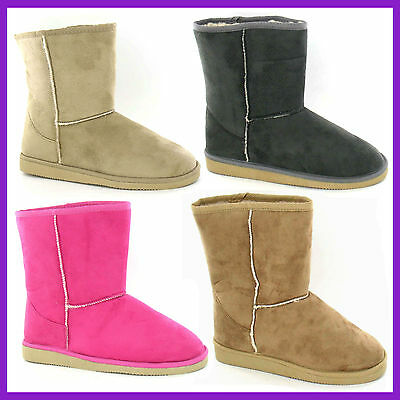 WHOLESALE Flat SPOTON Snugg Microfibre Ankle Boots > Sizes 13-6 or 3-8 > X4002