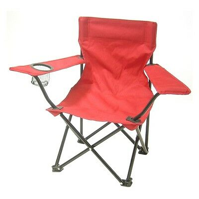 Redmon Kids Folding Camp Chair with Matching Tote bag - 9006RD