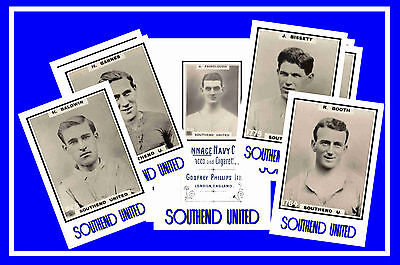 SOUTHEND UNITED - RETRO 1920's STYLE - NEW COLLECTORS POSTCARD SET