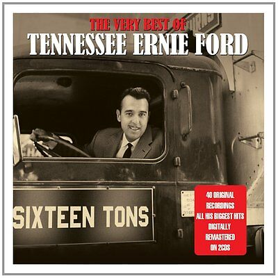 Tennessee Ernie Ford VERY BEST OF 50 Original Recordings ESSENTIAL New 2 CD