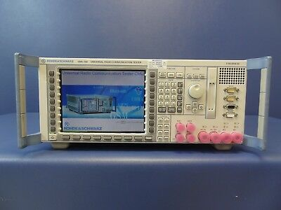 Rohde & Schwarz/R&S CMU200 Universal Radio Communication Tester With Options
