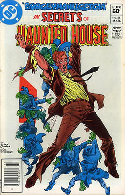 SECRETS OF HAUNTED HOUSE #46 VG, DC Comics 1982, UPC