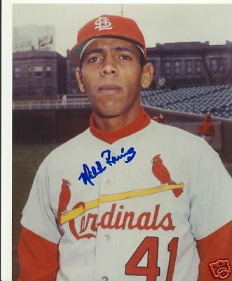 Milton Ramirez St. Louis Cardinals Signed 8X10 Photo