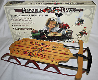 Flexible Flyer Sled Miniature Snow Sled - New in Box - FREE SHIPPING