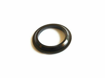 """Headset Crown Race AL7075 Anodised 1"""" ISO (26.4mm) x 4.75mm Black H6009A"""