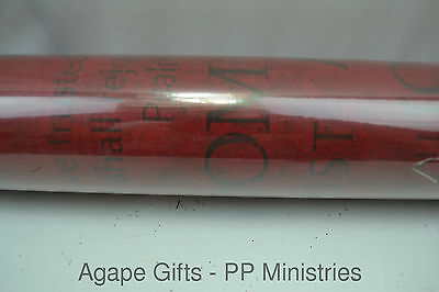 hobby lobby christmas gift wrap wrapping paper faith based words on red - Hobby Lobby Christmas Wrapping Paper