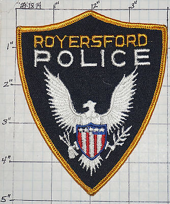 Pennsylvania, Royersford Police Dept Patch