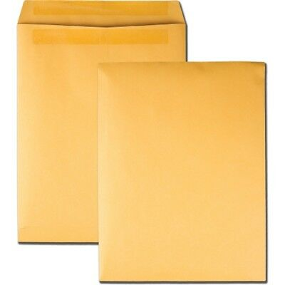 """Quality Park Redi-Seal Catalog Envelope, 10 X 13, Brown Kraft, 100/box"""
