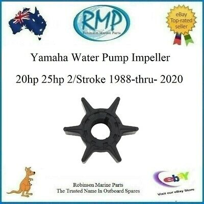 Aftermarket Water Pump Impeller Yamaha 20hp-thru-25hp 1988-2014 # R 6L2-44352-01