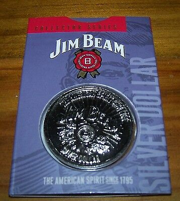 JIM BEAM SILVER DOLLAR - 2nd IN THE SERIES