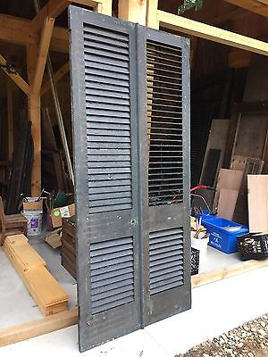 Antique Shutters For Entry Door.