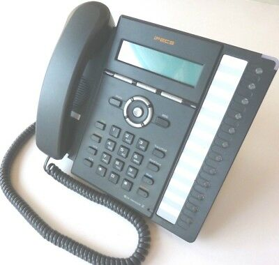 LG-Ericsson IPECS LIP-8012E IP Gigabit Phone with stand. GST inc & 12 months wty