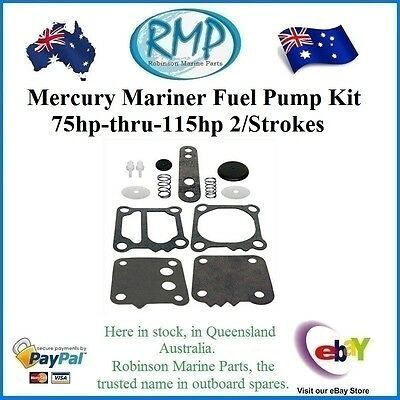 A Brand New Fuel Pump Kit Suits Mercury Mariner 75hp-thru-115hp  # 42909A4