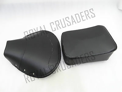 Vespa Front Cover Rear Complete Seat Set Black Vbb, Vba,super,sprint,px @pummy